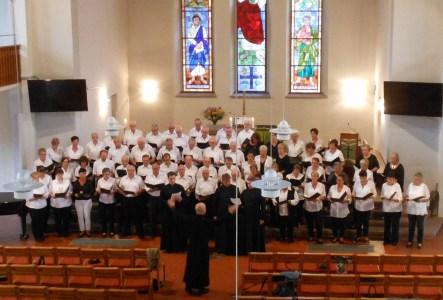 Gesangverein Frohsinn mit St.-Daniels-Ensemble